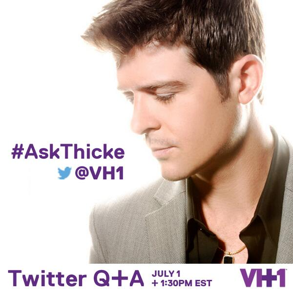 ask robin thicke that grape juice 2014 Ouch! Robin Thicke Suffers Digital Dragging During Twitter Q&A Session