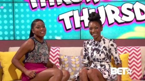 Watch: Brandy Visits 'Just KeKe' / Talks End Of 'Moesha'