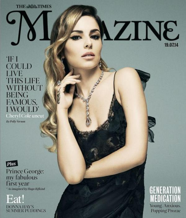 cheryl cole times 2 Cheryl Cole Covers The Times Magazine