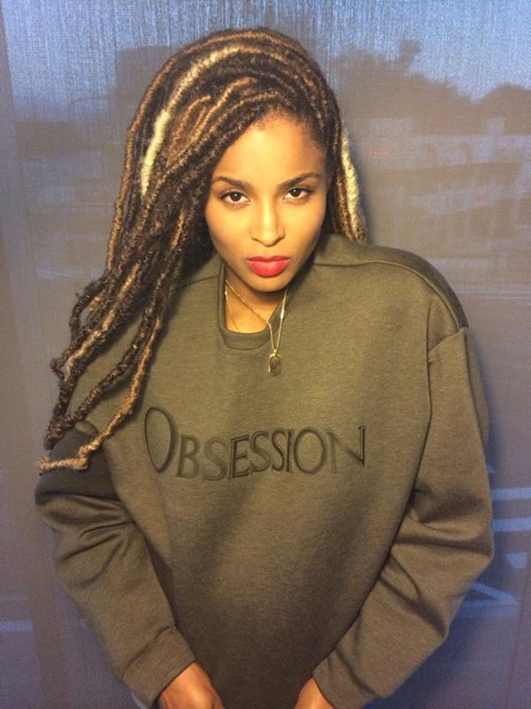 ciara 2014 braids Ciara Shares New Look As She Goes Back To Work