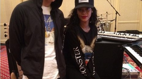 Hot Shots: Rihanna & Eminem Rehearse For 'Monster Tour'