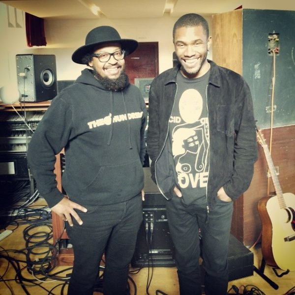 frank ocean 2014 600x600 Hot Shot: Frank Ocean Hits The Studio