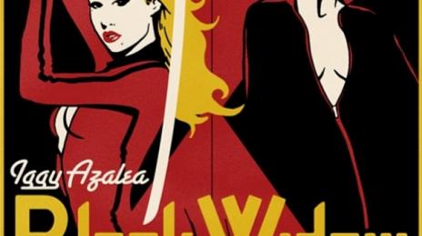 Iggy Azalea Releases 'Black Widow' Single Cover