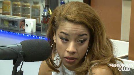 Watch: Keyshia Cole Visits 'The Breakfast Club' / Talks Divorce, New Album & More