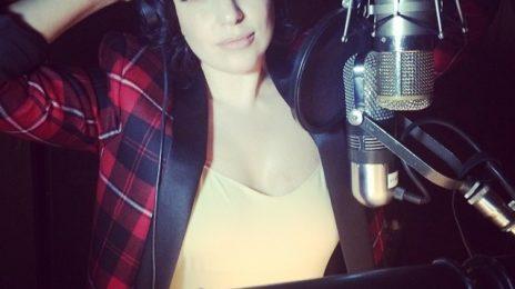 Hot Shot: Lady GaGa Returns To The Studio