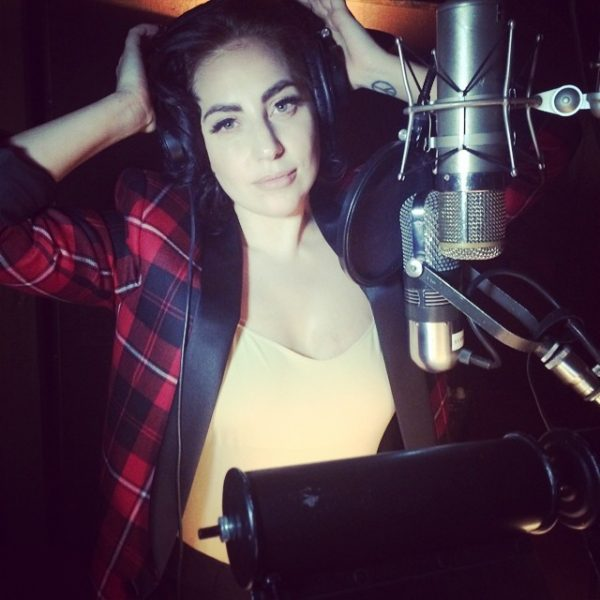 lady gaga 2014 thatgrapejuice 600x600 Hot Shot: Lady GaGa Returns To The Studio