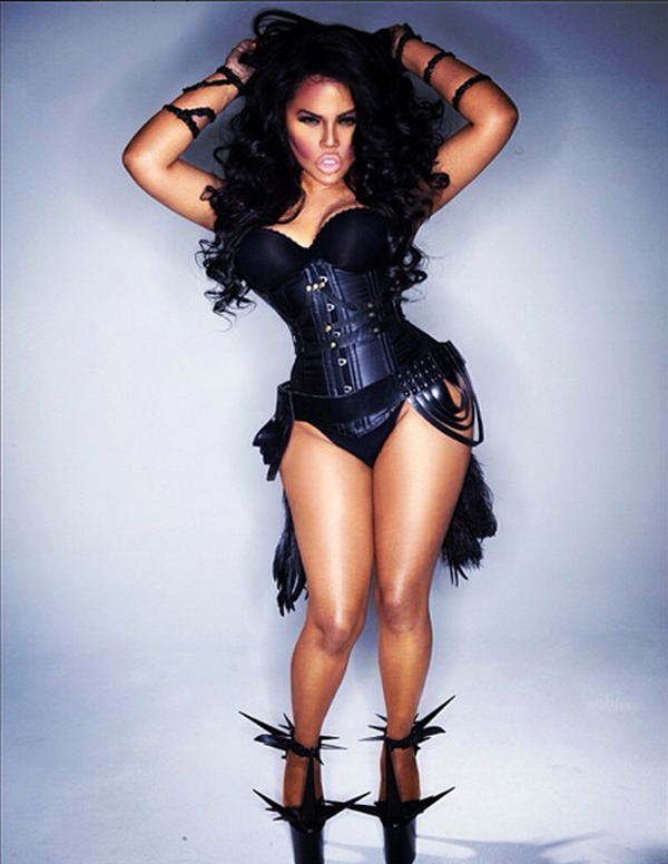 lil kim 40th birthday Lil Kim Celebrates 40th Birthday By Revealing Baby Royal Reign