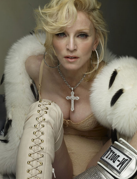 madonna she is diva that grape juice tgj 3 Madonna Confirms New Song Title...Messiah
