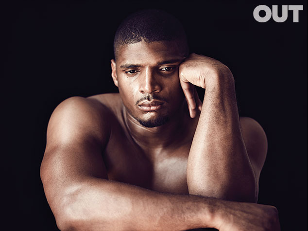 michael sam that grape juice Michael Sam Covers OUT Magazine