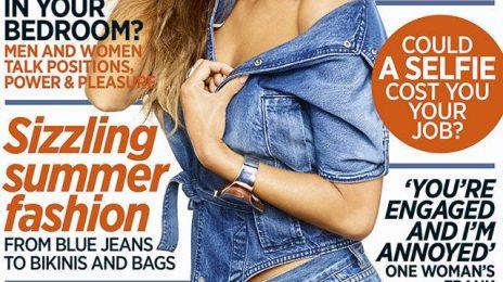 Nicole Scherzinger Shines On Cosmopolitan Magazine
