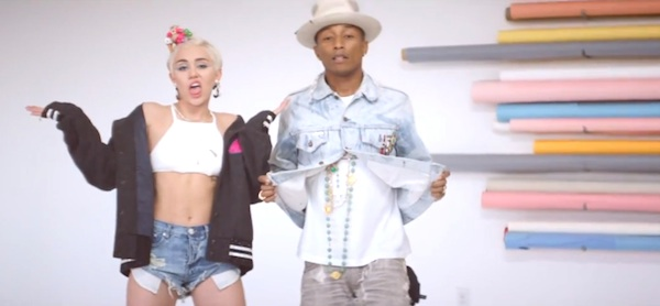 pharell miley cyrus bae New Video: Pharrell Williams   Come Get It Bae