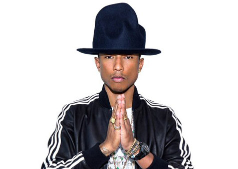 pharrell williams that grape juicejpg Beyonce & Pharrell Lead Mid Year R&B/Hip Hop Charts
