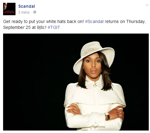 scandal season 4 thatgrapejuice1 Scandal Announces Season 4 Premiere Date