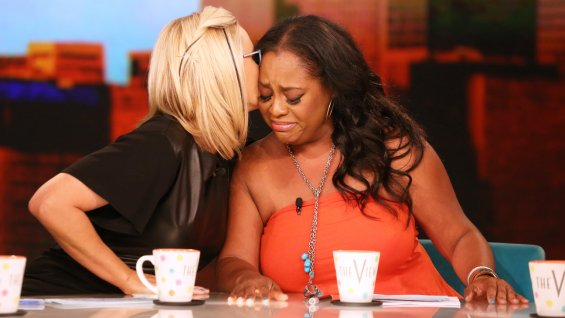 sherri shepherd the view that grape juice 2014 Watch: Sherri Shepherd Explains Exit From The View / Elisabeth Hasslebeck Slams Rosie ODonnell Over Comeback Plans