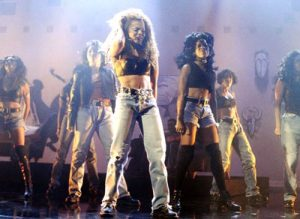 Janet VMA 93 300x219 From The Vault: Janet Jackson   Thats The Way Love Goes/ If Live At The 1993 MTV VMAs