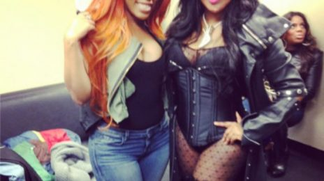 "Did You Miss It?:  K. Michelle Crowns Nicki Minaj ""Queen of Rap"" / Lil Kim Responds"