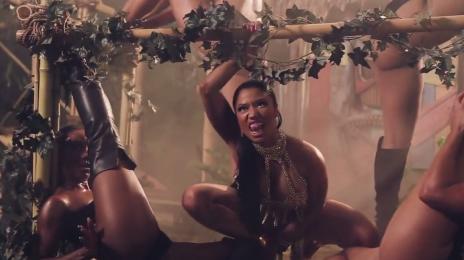 Behind The Scenes: Nicki Minaj - 'Anaconda (Video)'