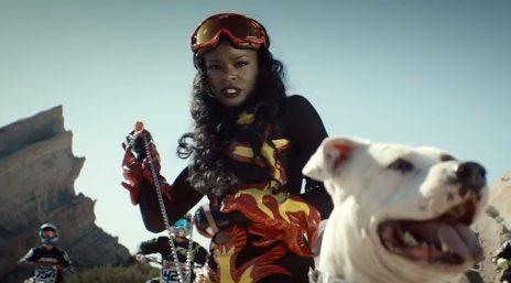New Video: Azealia Banks - 'Heavy Metal And Reflective'