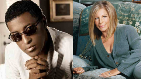 Watch: Babyface Hits The Studio With Barbra Streisand