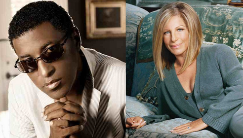 babyface barbra streisand that grape juice 11 Watch: Babyface Hits The Studio With Barbra Streisand