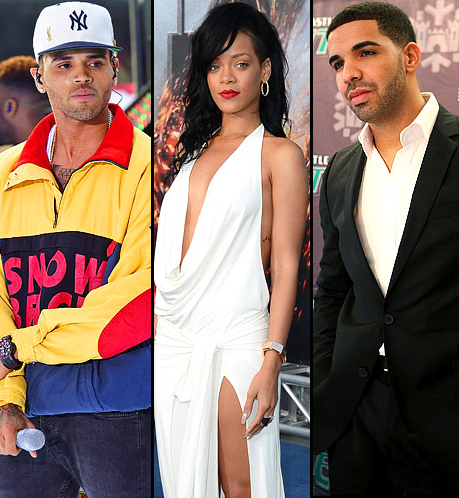 chris brown rihanna drake that grape juice Watch: Drake Mocks Chris Browns Loyal?