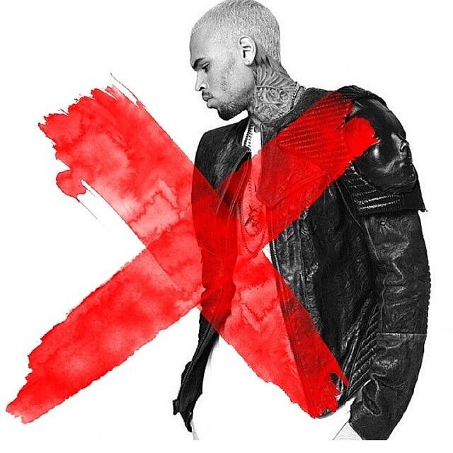 Chris Brown Unwraps New 'X' Album Promo - That Grape Juice X Album Cover Chris Brown