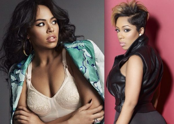 elle varner kmichelle that grape juice 600x426 K.Michelle Addresses Elle Varner Beef On Hot 97: She Stole From Me.