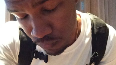 Hot Shot: Frank Ocean Dyes Hair Blue