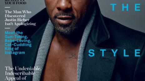 Idris Elba Covers 'Details Magazine'
