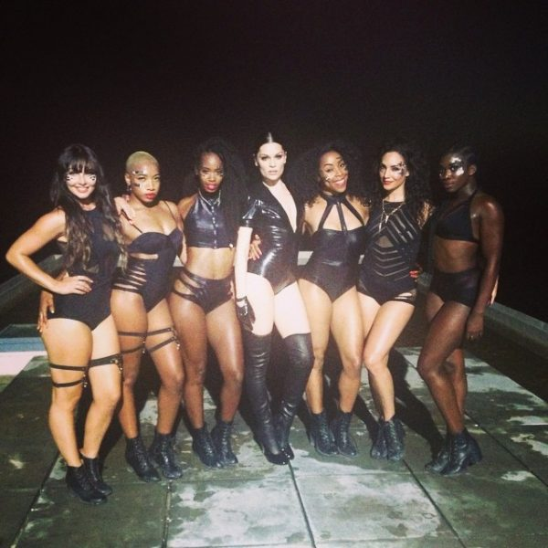 jessie j burning up thatgrapejuice 600x600 Jessie J Shoots Video For New Single Burning Up / Shares Snippet