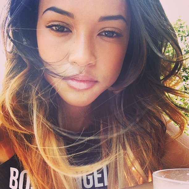 karrueche tran thatgrapejuice Did You Miss It?:  Karrueche Tran Under #Beyhive Attack For Mocking Blue Ivys Hair