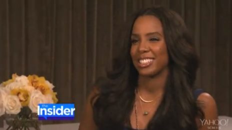 Watch: Kelly Rowland Talks Baby Boy On 'Insider'