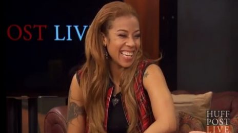 Watch: Keyshia Cole Celebrates Apple's iTunes On 'HuffPost Live'