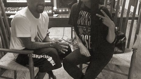 Hot Shot: Monica Hits Studio With Jermaine Dupri