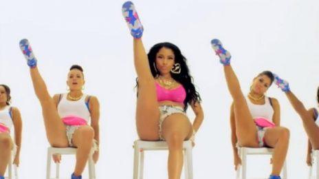Nicki Minaj's 'Anaconda' Sets VEVO Viewing Record / Re-Enters iTunes Top Five