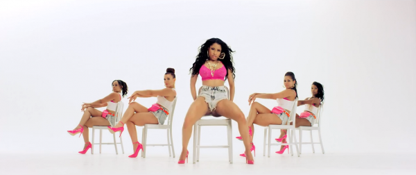 nicki minaj anaconda video that grape juice 20141 600x252 Nicki Minajs Anaconda Crushes Competition With New Certifications / UK Introduces Age Rating System For Similar Videos