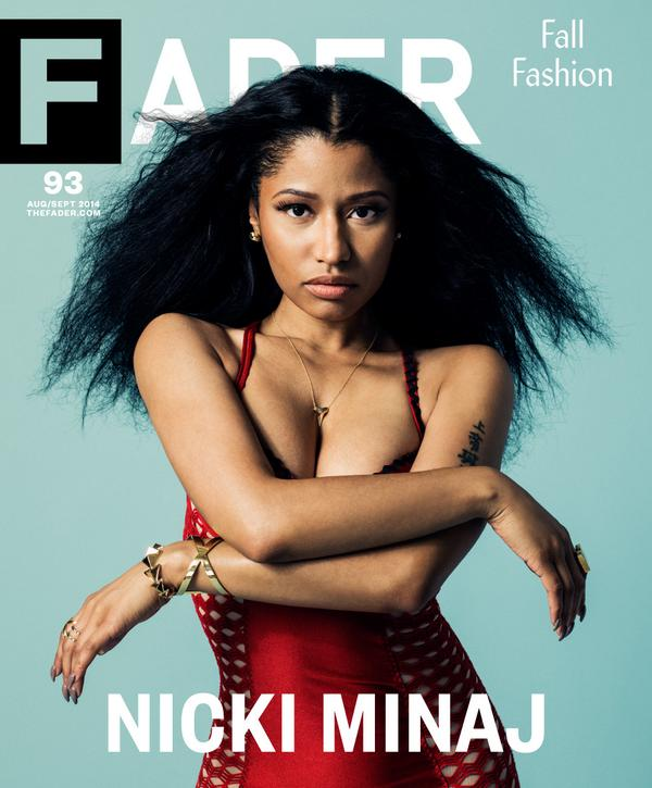 nicki minaj fader thatgrapejuice Nicki Minaj Covers The FADER