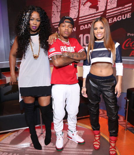 remy ma that grape juice 190 Must See: Remy Ma Visits 106 & Park / Celebrates Career With Fans