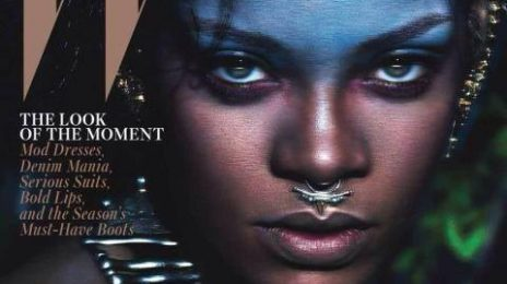 Rihanna Wows In 'W Magazine' With Naomi Campbell & Iman