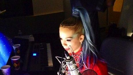 Hot Shots: Rita Ora Hits Studio With will.i.am