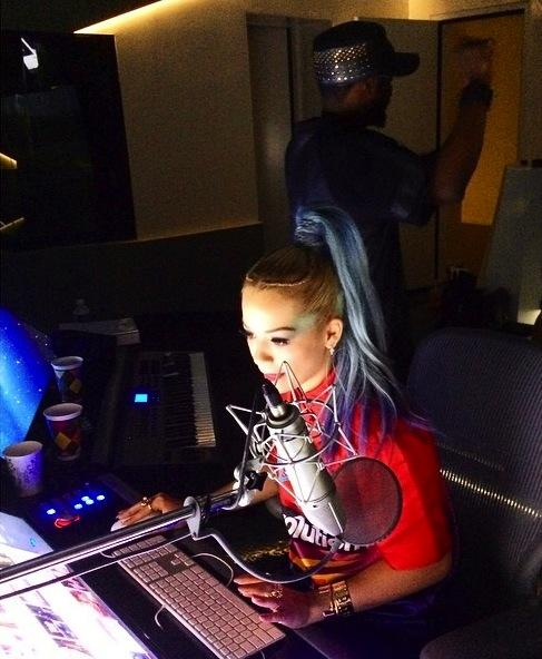 rita ora will i am thatgrapejuice1 Hot Shots: Rita Ora Hits Studio With will.i.am
