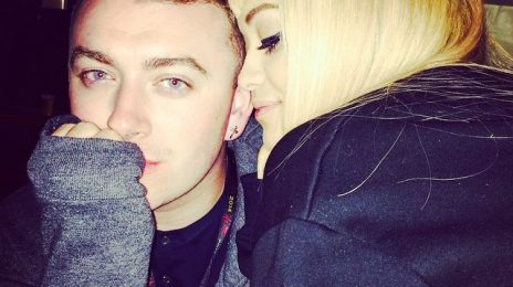 Hot Shot: Rita Ora Cosies Up To Sam Smith At 'V Festival'