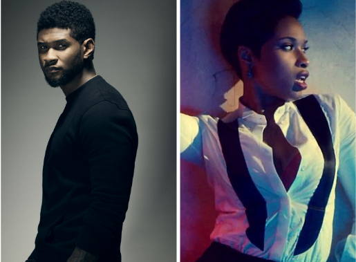 usher jenniferhudson thatgrapejuice Usher & Jennifer Hudson Join Fashion Rocks 2014 Performance Line Up