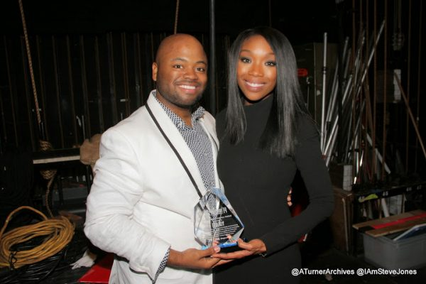 6HTC 600x400 Hot Shots: Brandy Stuns & Shares At The Hollywood Confidential