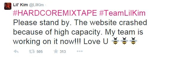 Capture New Music:  Lil Kim   Hardcore: The Mixtape