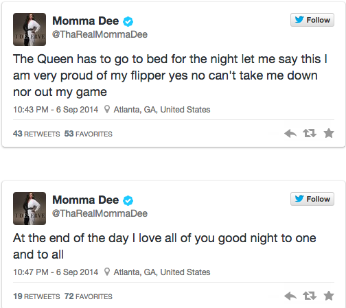 Momma Dee Claps Back At Critics Of Her Tooth Falling Out During Live