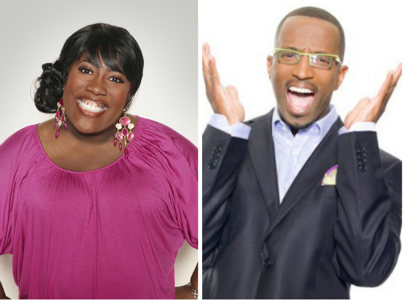 Sheryl underwood-the talk-rickey smiley-queens of comedy