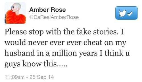 amber rose tgj Amber Rose Claps Back At Rumors / Claims Wiz Khalifa Cheated On Her