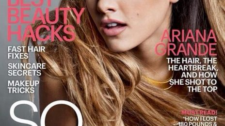 Ariana Grande Continues Cover Domination On Marie Claire