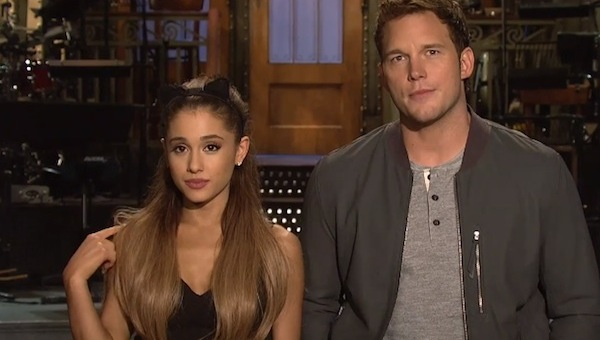 ariana grande snl thatgrapejuice Watch: Ariana Grande Flexes Funny Bone In New SNL Promo